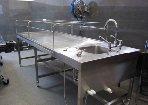 Ghusl Muslim Washing Table