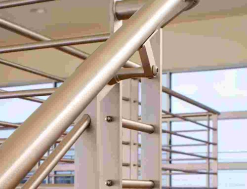 Stainless Steel Contemporary Railings