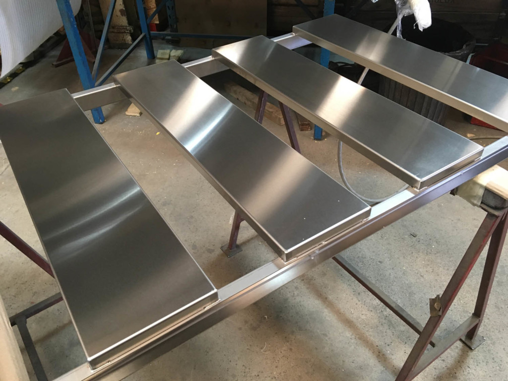 What Is Stainless Steel Made Of >> Autopsy Table Platform Being Made In 316 Stainless Steel